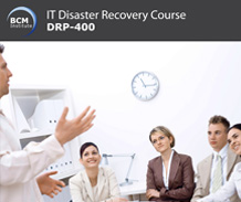 drp 400 it disaster recovery manager bcm institute