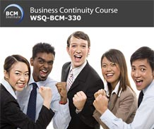 WSQ-BCM-330: Testing and Exercising Business Continuity Plans