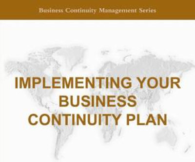 Implementing Your Business Continuity Plan Second Edition  Bcm